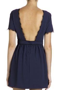Robe taille haute Bleu by SUNCOO