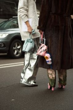 See All the Best Street Style from Milan Fashion Week: Candela Novembre, Anna Dello Russo