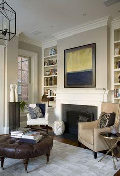 Benjamin Moore Edgecomb Gray Paint | Neutral Home Decor Inspiration | Living  Room Decorating Ideas Benjamin