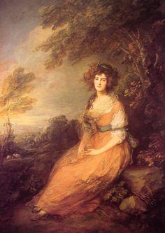 mrs. sheridan, Thomas Gainsborough