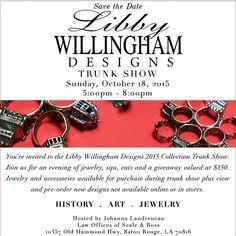 #trunkshow #jewelry #3dprinting #rings #ringsringsrings by libbywillinghamdesigns