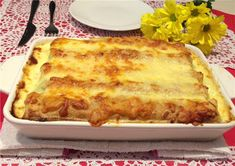 Hungarian Recipes, Hungarian Food, Lasagna, Pancakes, Food And Drink, Pizza, Cheese, Ethnic Recipes, Cukor