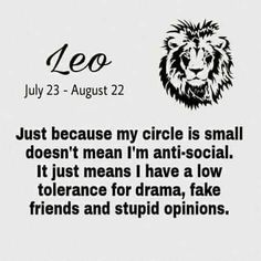I am not a leo but this is me