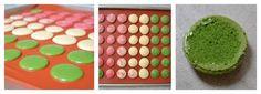 makronky barevné