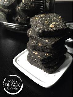 Black sesame & Nut cookies by Tasty black cafe