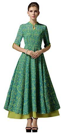 Darceil Women's Green 1/2 Sleeve Two Layer Big Swing Long... https://www.amazon.com/dp/B072NZ7P9K/ref=cm_sw_r_pi_dp_x_hUcdzbNAVCXHF
