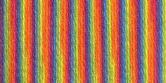 Lion Brand® Color Waves® Yarn Rainbow