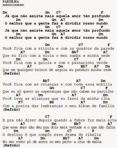 MEU CAVAQUINHO: Cifra - Partilha - Roberto Ribeiro
