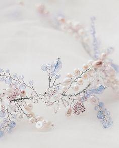 Bridal Headpiece Wedding Hair Vine Bridal by YourDreamsBoutique