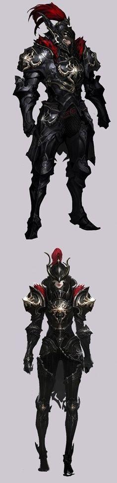 Modelo de armadura do império vermelho.
