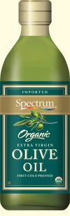 Spectrum Organic Extra Virgin Olive Oil - Estate-grown Arbequina Olive Oil makes the most of this prized fruit--complex nuances, fruity aromas