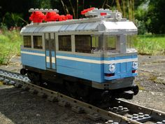 Der Glaeserne Deutsche Bahn #flickr #LEGO #train