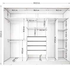 Roupeiro 3 Portas de Correr Juliana III 4 Gavetas Branco - Móveis Bechara Wardrobe, com. Wardrobe Design Bedroom, Master Bedroom Closet, Bedroom Wardrobe, Bedroom Closets, Diy Bedroom, Wardrobes For Bedrooms, Bedroom Doors, Master Closet Layout, Master Closet Design