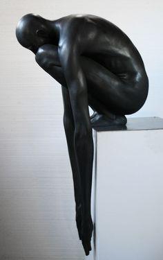 Ne plonge pas à nouveau, relève-toi ! / Don't dive again, get up ! / Abyss. / By Emil Alzamora.