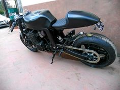 """Racing Cafè: Suzuki GSX-R """"Back to Black"""" by KMP"""