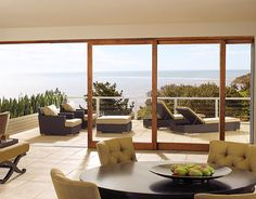 Marvin Windows and Doors - would love to have a sliding glass window/door like this someday....