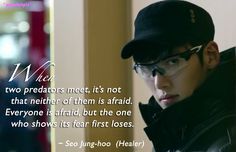 Healer quotes: Ji Chang Wook as Seo Jung Hoo (ep5)