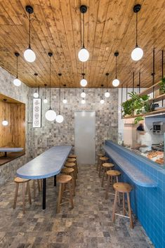 A small fry with big design chops, Adelaide's Japanese inflected ode to the deep blue is no pipsqueak...