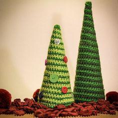 bymami Hæklede Juletræer
