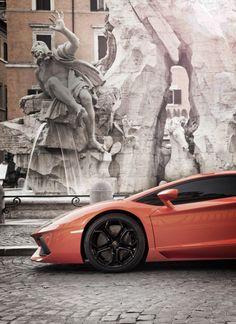 divine beauty! Lamborghini Aventado