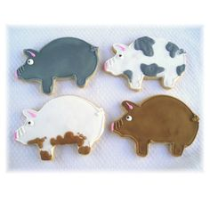 pig cookies images - Google Search
