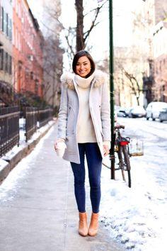 I like her coat