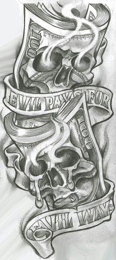 Skull Tattoos for Men Shoulder . Skull Tattoos for Men Shoulder . Gangster Tattoos, Chicano Art Tattoos, Evil Tattoos, Skull Tattoos, Body Art Tattoos, Badass Tattoos, Sleeve Tattoos, Chicano Tattoos Gangsters, Evil Skull Tattoo