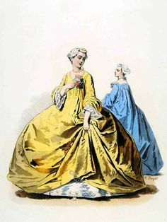 The Reign of Louis XV. 1715 to 1774. | Costume History
