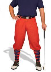 GolfKnickers: Men's 'Par 4' Cotton/Linen Golf Knickers.  Buy it @ ReadyGolf.com