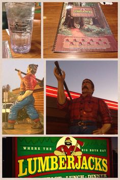 Lumberjack restaurant in Redding, CA. Everything was jumbo except the price!