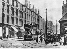 SPRINGBURN CROSS AT COWLAIRS ROAD AND VULCAN STREET c. 1904