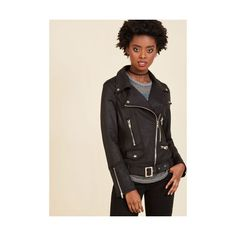 Rockabilly Short Length Ponte Over Here Jacket ($85) ❤ liked on Polyvore featuring outerwear, jackets, apparel, black, moto jacket, biker jacket, rockabilly jacket, ponte moto jacket, motorcycle jacket and rider jacket