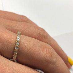 Full Eternity Diamond Ring, Pave Diamond Wedding #18kgoldring #diamondstackring #uniquediamondring #diamondweddingring #eternityring #fulleternityring #diamondring #diamondweddingband #pavediamondring #ringsforwomen #realdiamondsring #naturaldiamondring #diamondpromisering