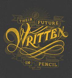 Drew Melton - Their future written in pencil