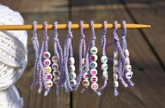 Great tute - Make Your Own Stitch Markers. Several ideas for every situation.