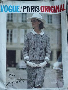 Vogue Couturier Design 1436 Jacques Heim by EleanorMeriwether