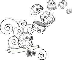 Lil owl by microcippa
