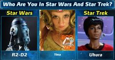 Who Are You In Star Wars And Star Trek?
