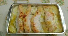 Fabulosa receta para Salmón al horno con nata.