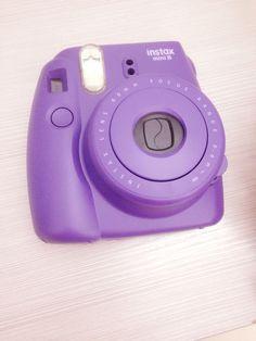 polaroid camera purple - Google Search