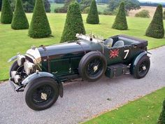 1934 Bentley Peterson 'Speed Eight' Le Mans