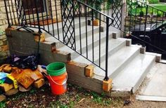 This company performs residential concrete work for patios, driveways, sidewalks, stairs and more. They also handle stamped and stained concrete.