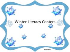 Two winter themed literacy centers for K-2! Long O/Short O word sortWinter Word ScrambleRecording sheets included!...