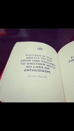 Success & Failure, so close together on the spectrum, one will not occur without the other at some point. The ability to bounce back from failure shows strength and passion which eventually turn into success.