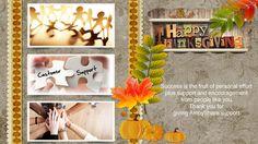 AmoyShare thanksgiving greeting card