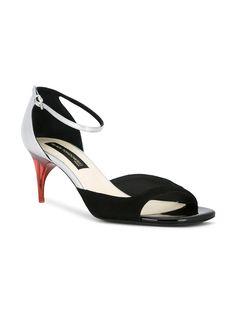Scarpe Donna Sandali Designer Heels Stiletto Plateau Pumps 5055 NERO 37
