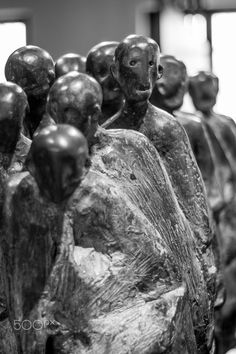 Lost hope - Monument to the victims of the death march.