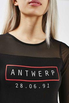 Antwerp Mesh Body - New In This Week - New In - Topshop