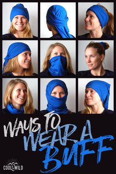The most versatile bit of kit ever! If you want year-round protection from the cold or the sun, take a read of 'How to Wear a Buff' for even more headwear options.