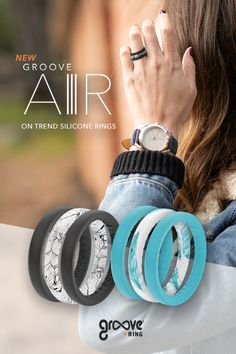 food_drink - No need to sacrifice style or risk losing your traditional ring while you're out conquering the world Finally truly breathable, stackable silicone rings! Wedding Engagement, Wedding Bands, Engagement Rings, Wedding Ring, Wedding Ceremony, Cute Jewelry, Jewelry Rings, Jewelry Accessories, Jewlery
